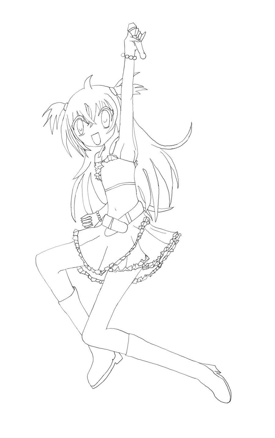 Kilari lineart by crazy over anime on deviantart - Kilari dessin ...