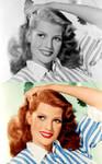 Rita Hayworth by bluishcanti