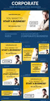 Corporate Web Ad Marketing Banners by webduckdesign