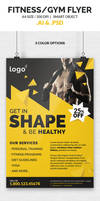 Fitness / Gym Flyer Template by webduckdesign