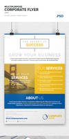 Multipurpose Corporate Flyer Template by webduckdesign