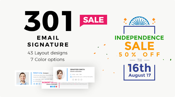 Email Signatureoffer16august by webduckdesign