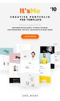 It'sMe - Creative Portfolio PSD Template by webduckdesign