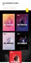 DJ Concert Flyer / DJ Poster