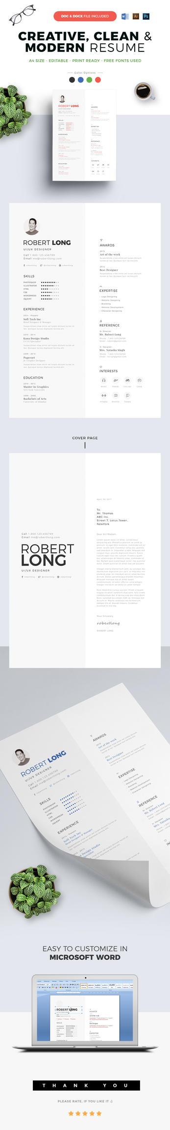 Resume / CV by webduckdesign