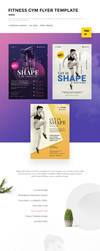 Fitness Gym Flyer Template by webduckdesign