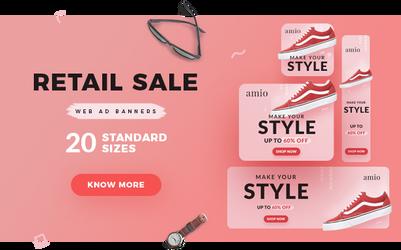 Retailsale Banner Shoe