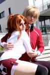 Bakuman - lovey dovey couple