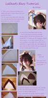 Tutorial LeChat's Ears by MikiyoOo by MikiyoOo