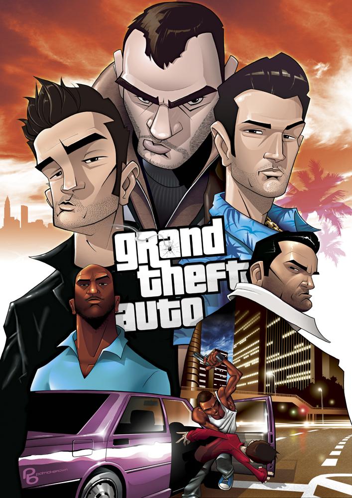 Grand Theft Auto LEGENDS
