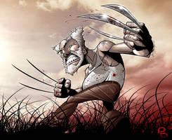 Good Old Wolverine by PatrickBrown