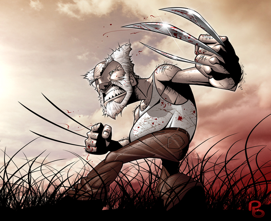 Good Old Wolverine by PatrickBrown