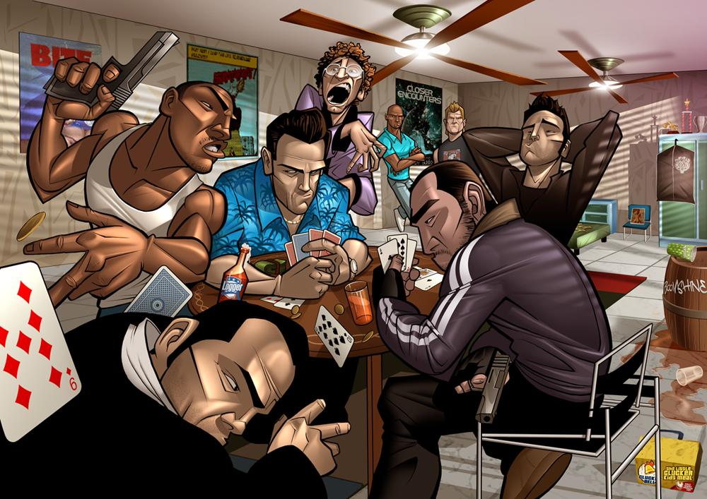 Fan Art! GTA IV... - Taringa!  Fan Art! GTA IV...