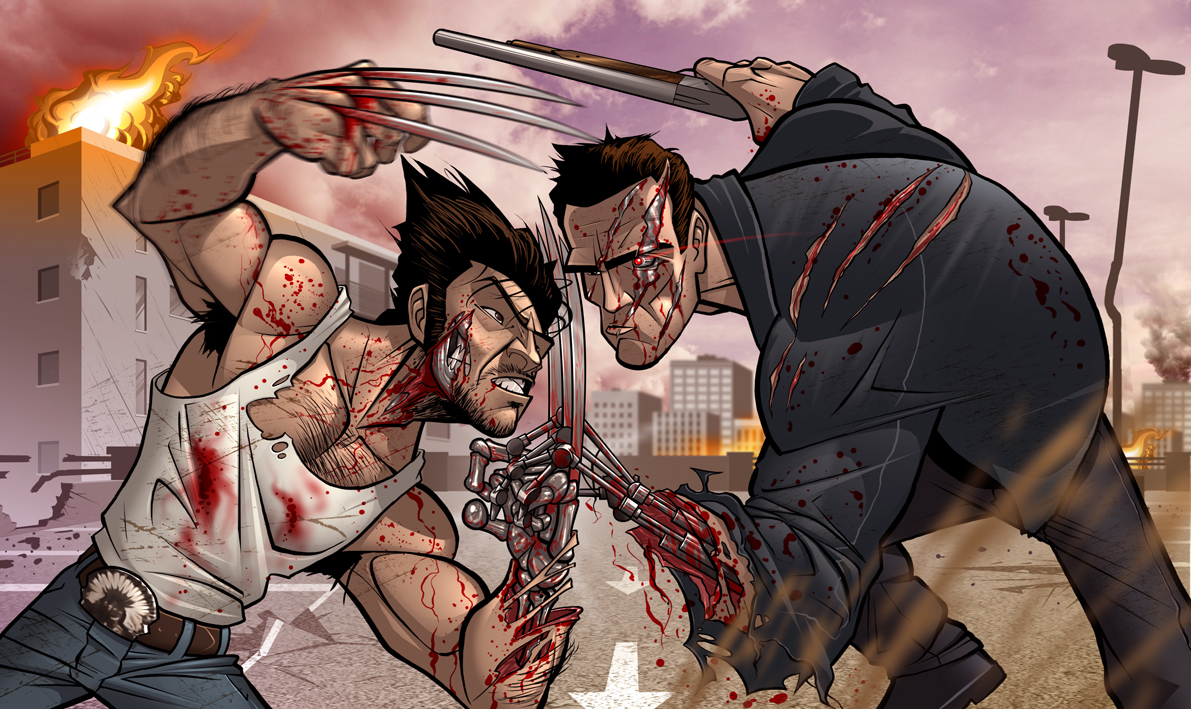 The Ultimate Clash by PatrickBrown