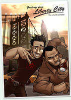 Welcome To Liberty City by PatrickBrown