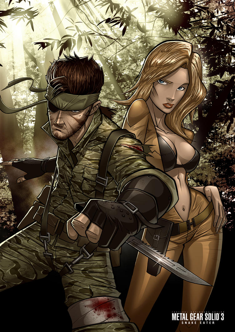 Snake Eater by PatrickBrown