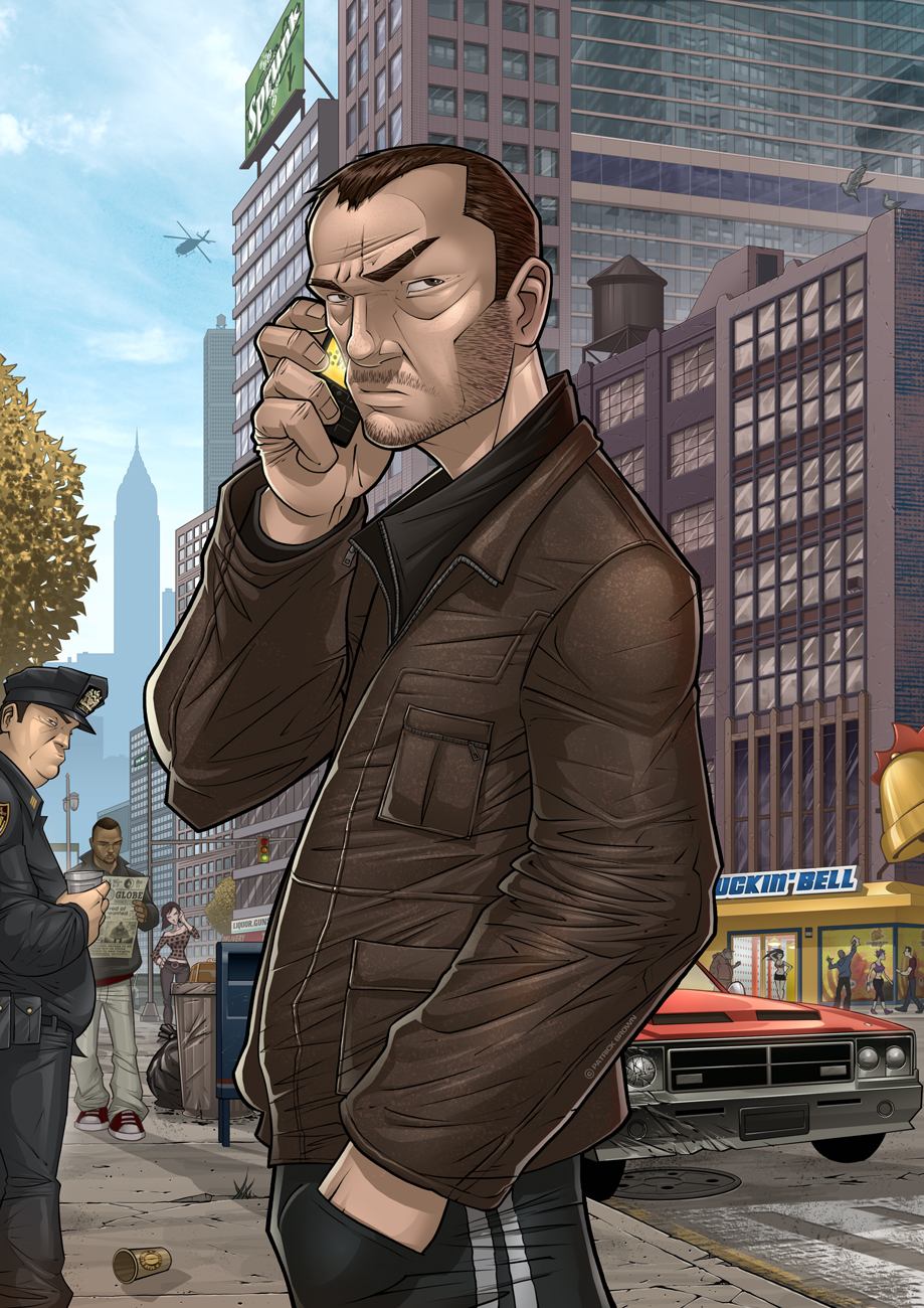 GTA IV: Man on a Mission by PatrickBrown