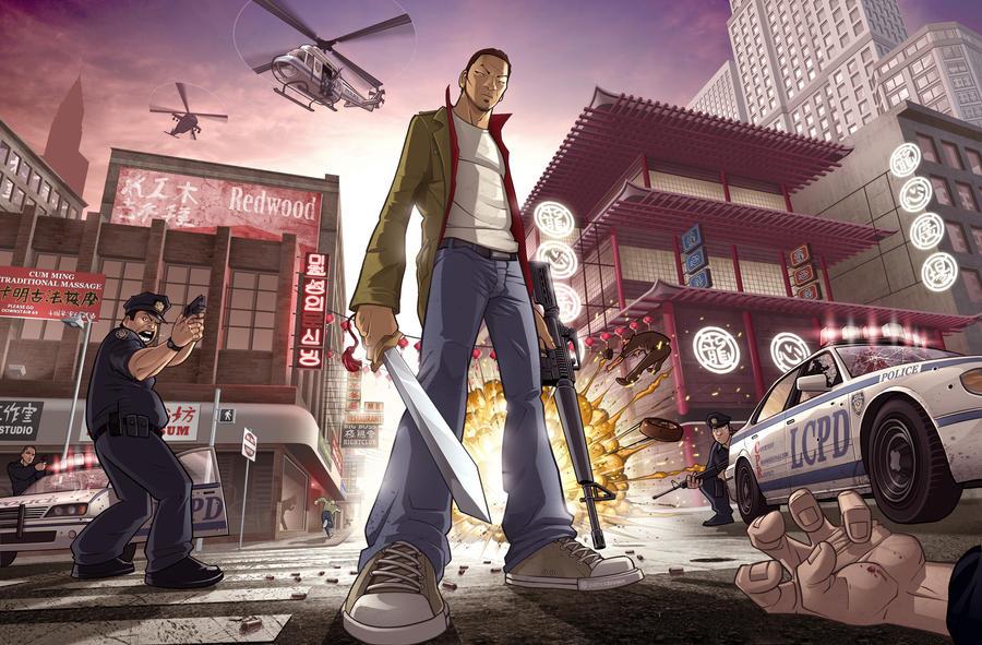 Chinatown War by PatrickBrown