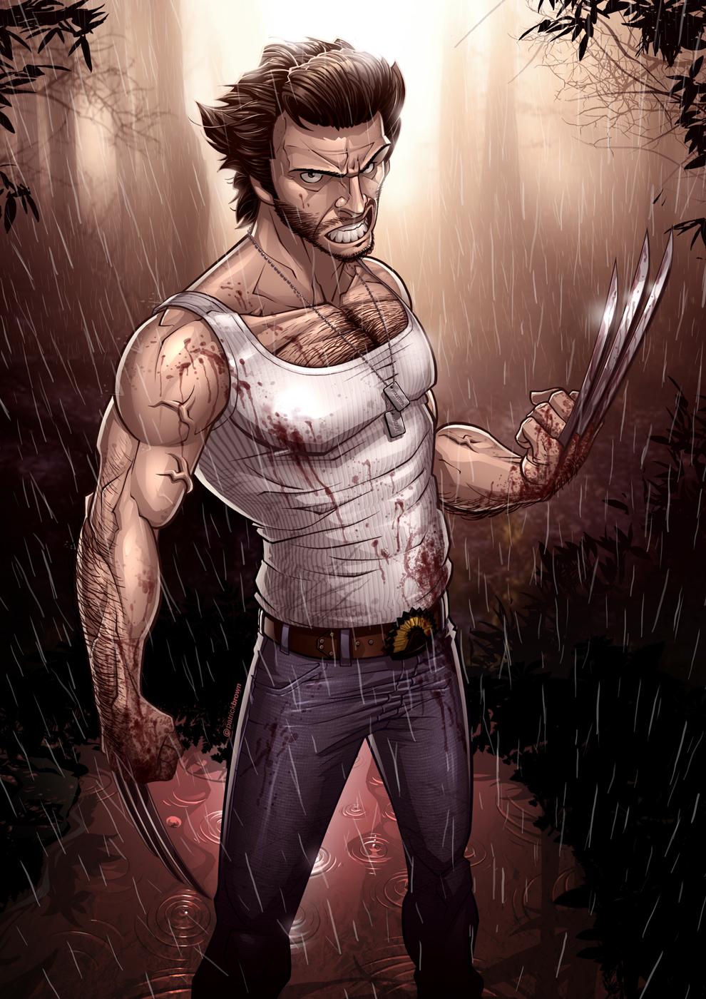 X men origins wolverine by patrickbrown on deviantart - Wolverine cgi ...