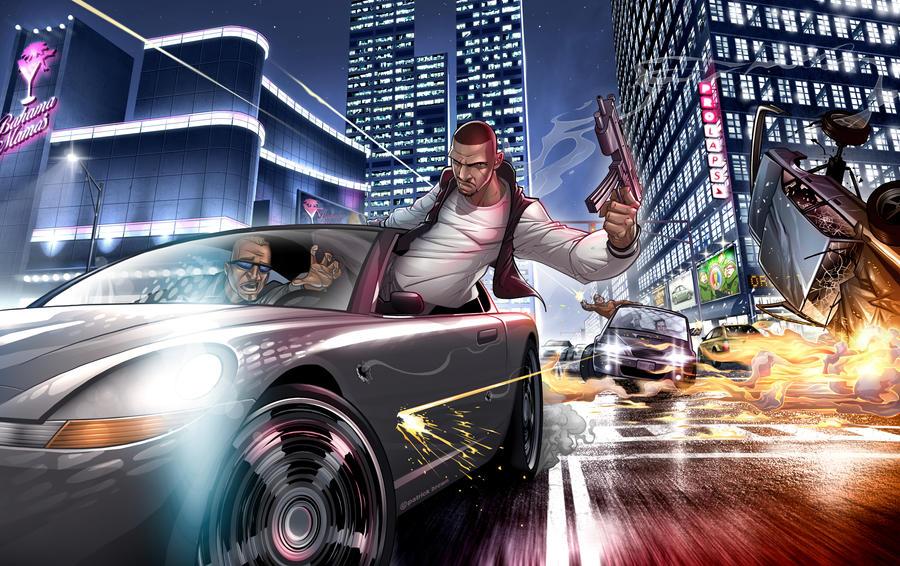 GTA IV: Ballad of Gay Tony by PatrickBrown