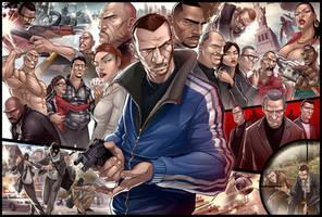 Grand Theft Auto IV TRIBUTE