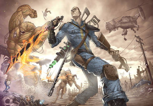 Fallout 3: Virtue to Vice by PatrickBrown