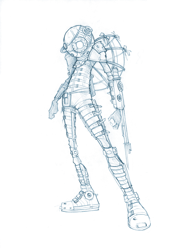Big Sister sketch