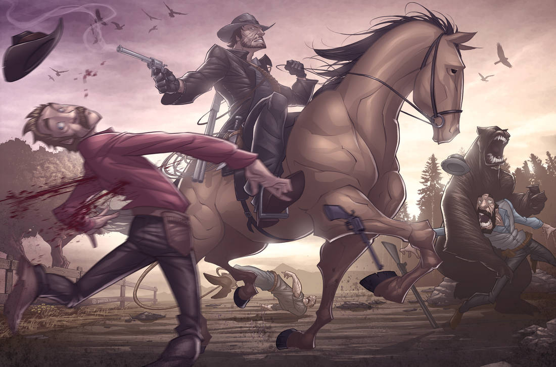 Red Dead Redemption v2 by PatrickBrown