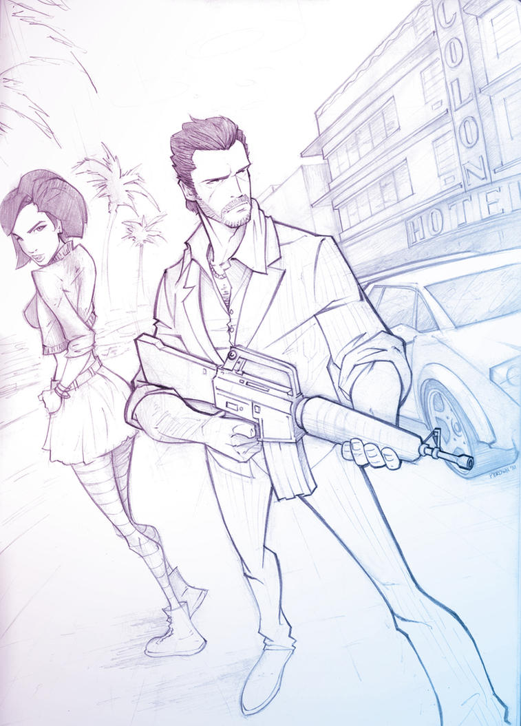 Vice City by PatrickBrown