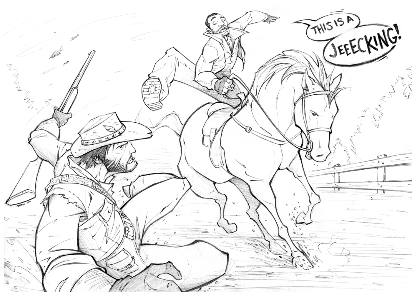 Grand Theft Auto RED DEAD by PatrickBrown