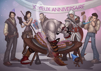 50th Issue Celebration by PatrickBrown