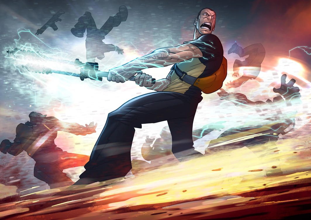 Infamous 2 by PatrickBrown