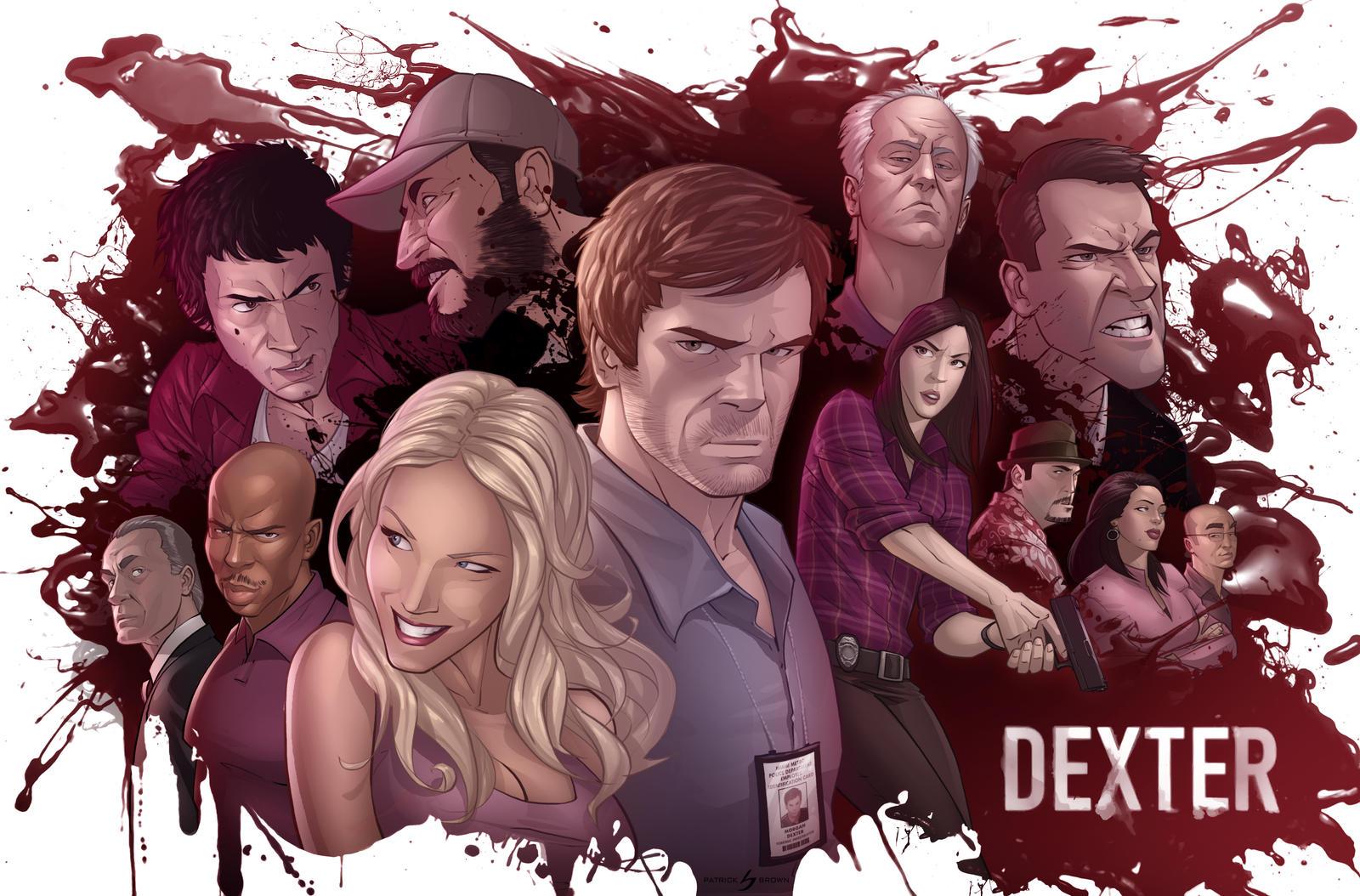 Dexter: The Dark Defender by PatrickBrown