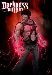 Darkness Within cover by PatrickBrown