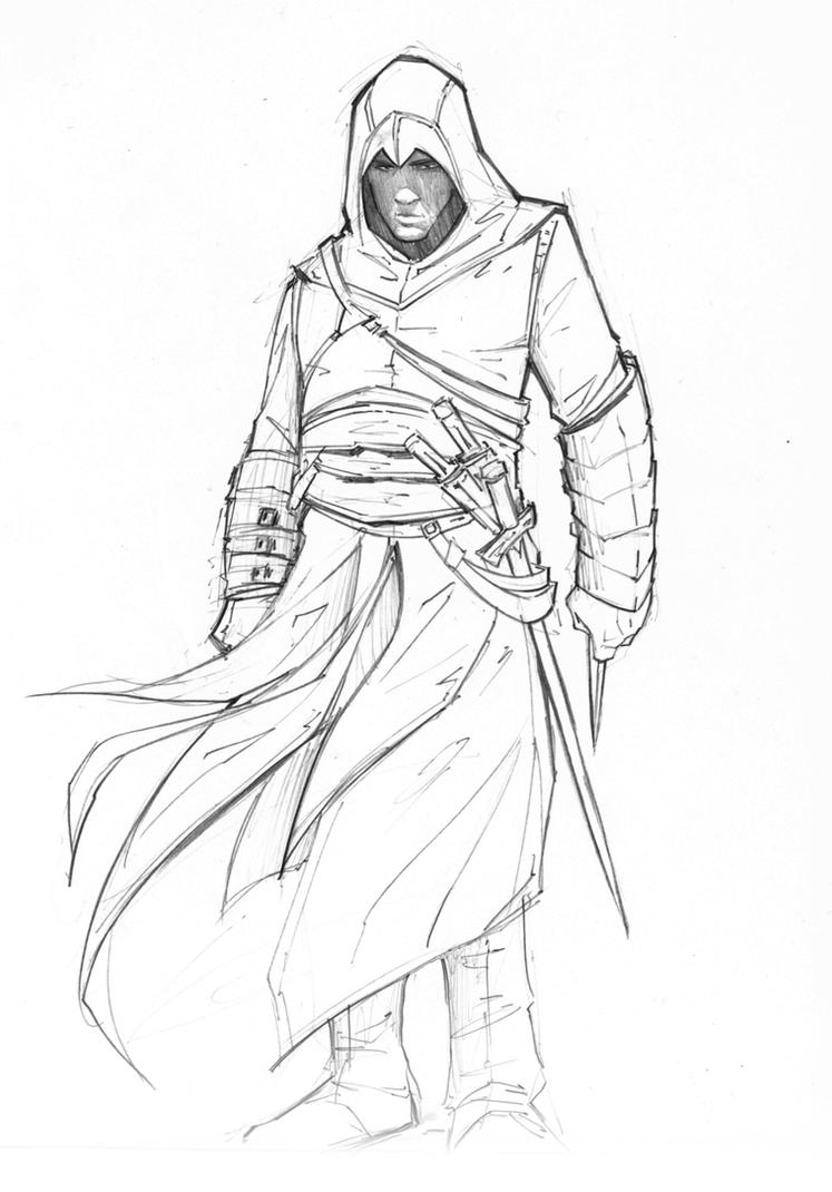 Drawing D Lines In Unity : Altair by patrickbrown on deviantart