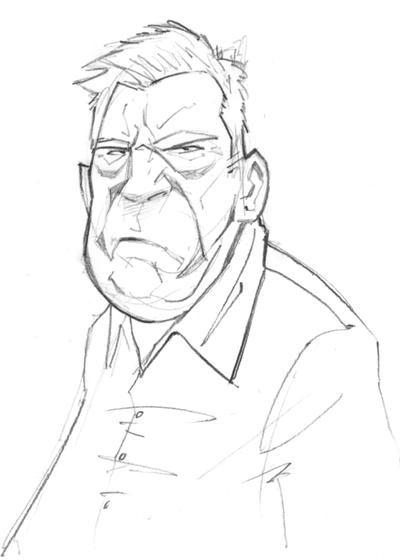 Grumpy Old Man by PatrickBrown