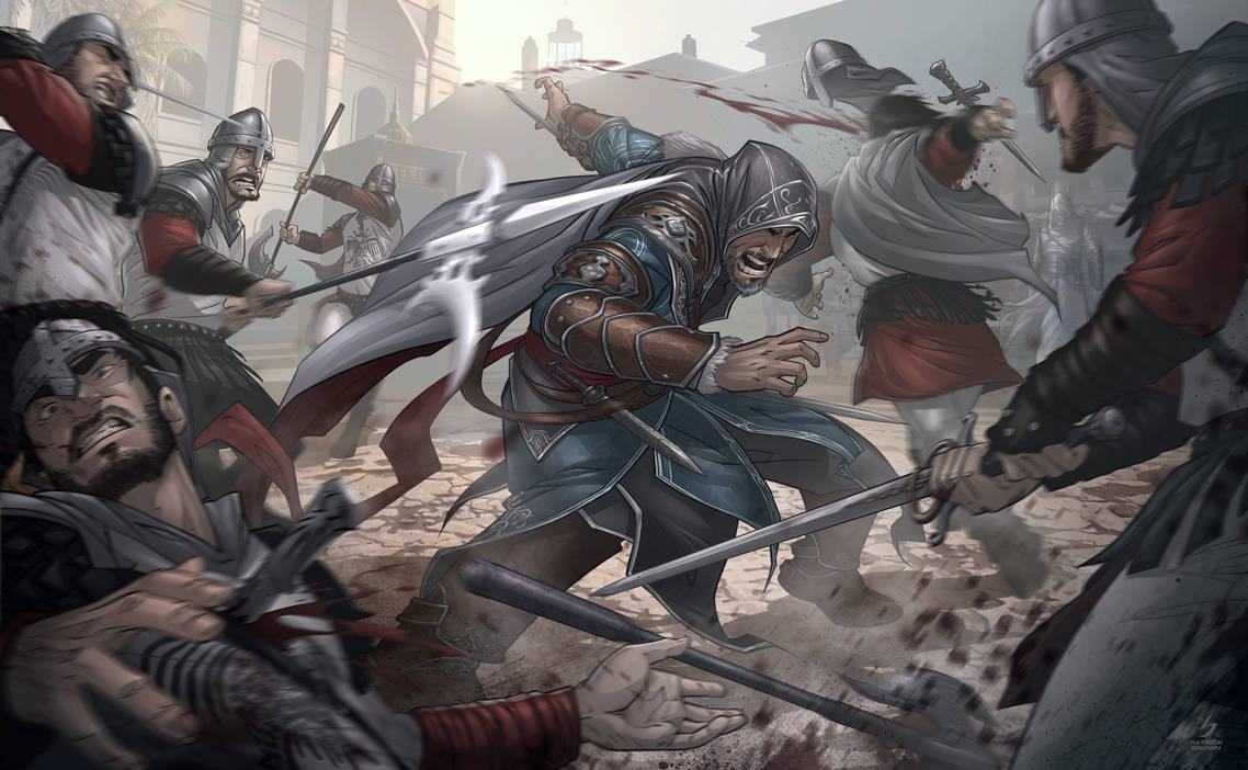 Assassins Creed Revelations by PatrickBrown