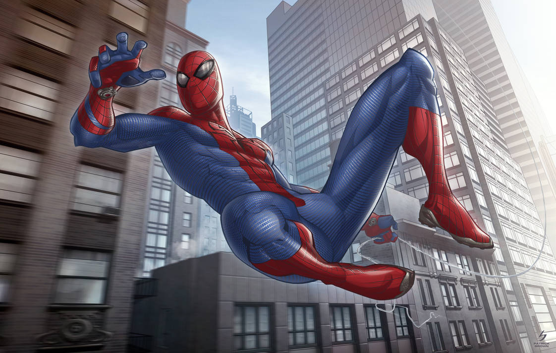 The Amazing Spider-man by PatrickBrown