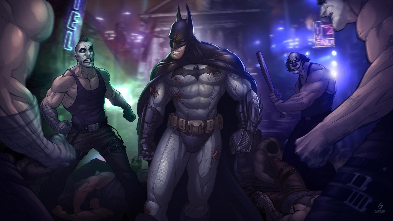 Batman: Arkham City by PatrickBrown on DeviantArt