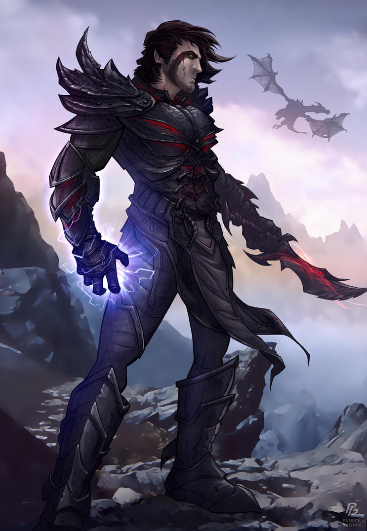 Skyrim - The Dragonborn by PatrickBrown
