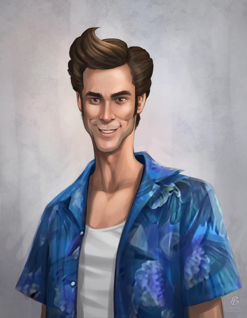 Ace Ventura by PatrickBrown