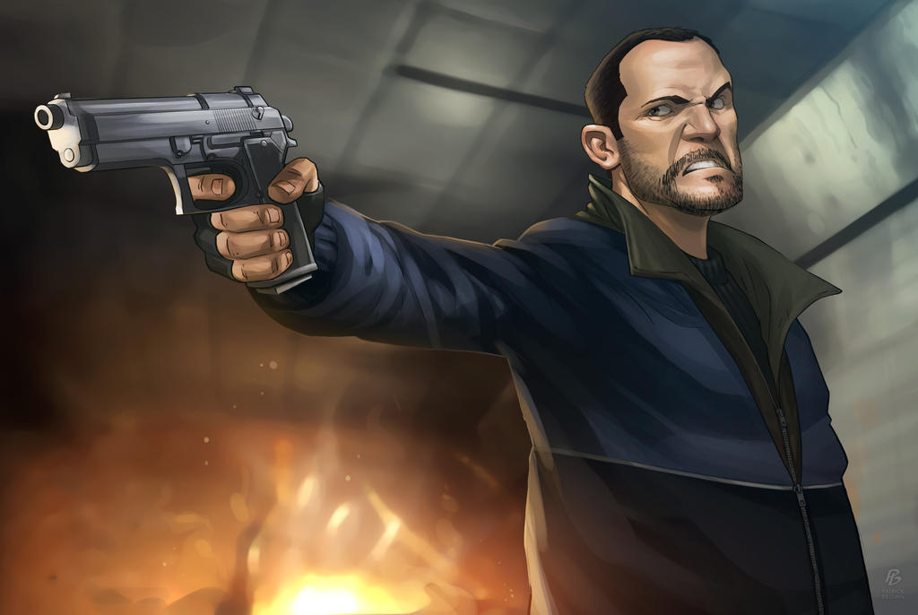 Niko Bellic by PatrickBrown