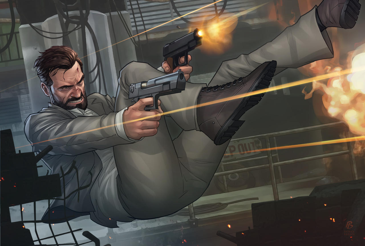 Max Payne 3 by PatrickBrown