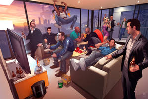 Grand Theft Auto Legends 2012