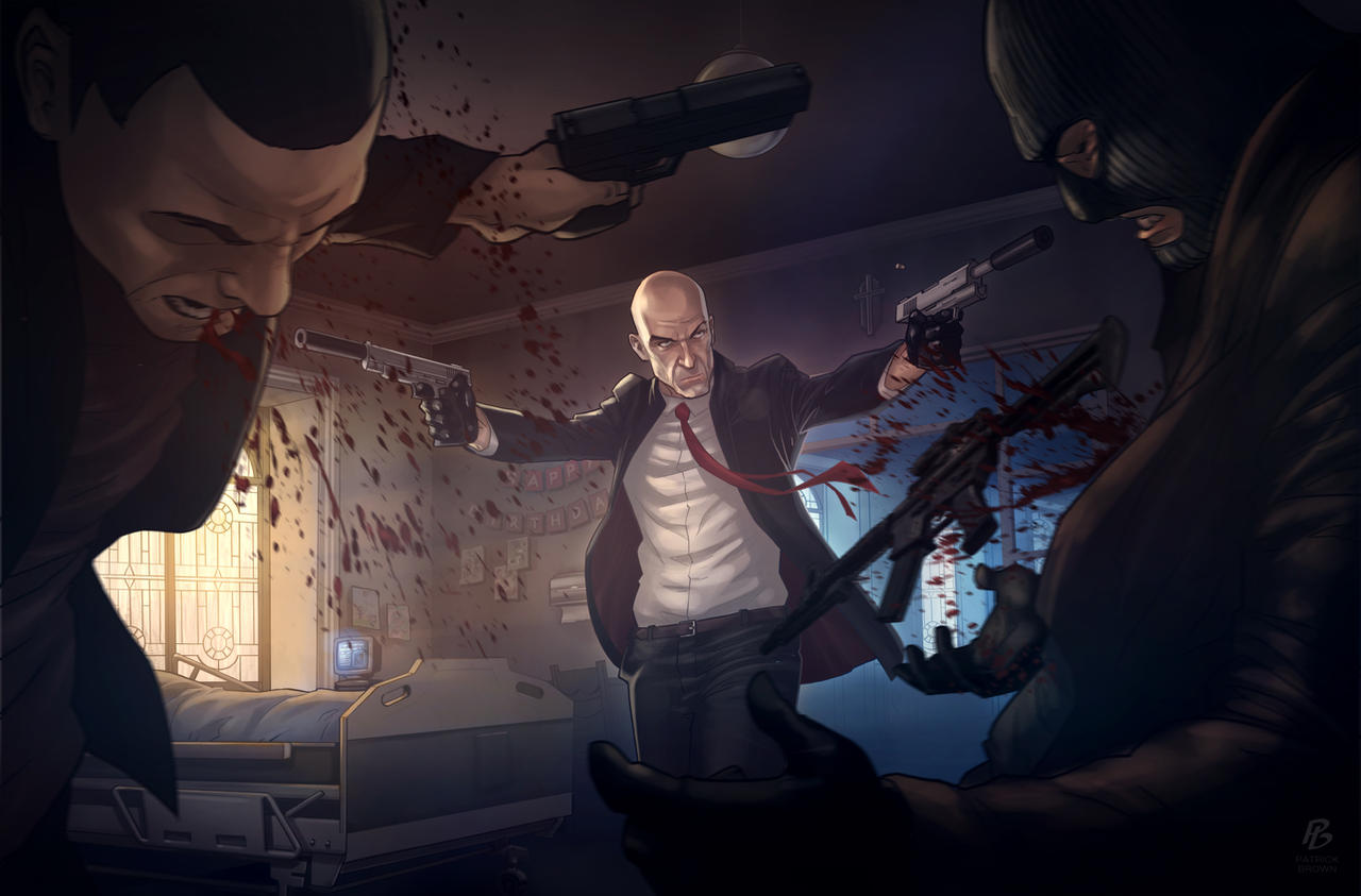 Hitman Absolution - The Orphanage by PatrickBrown