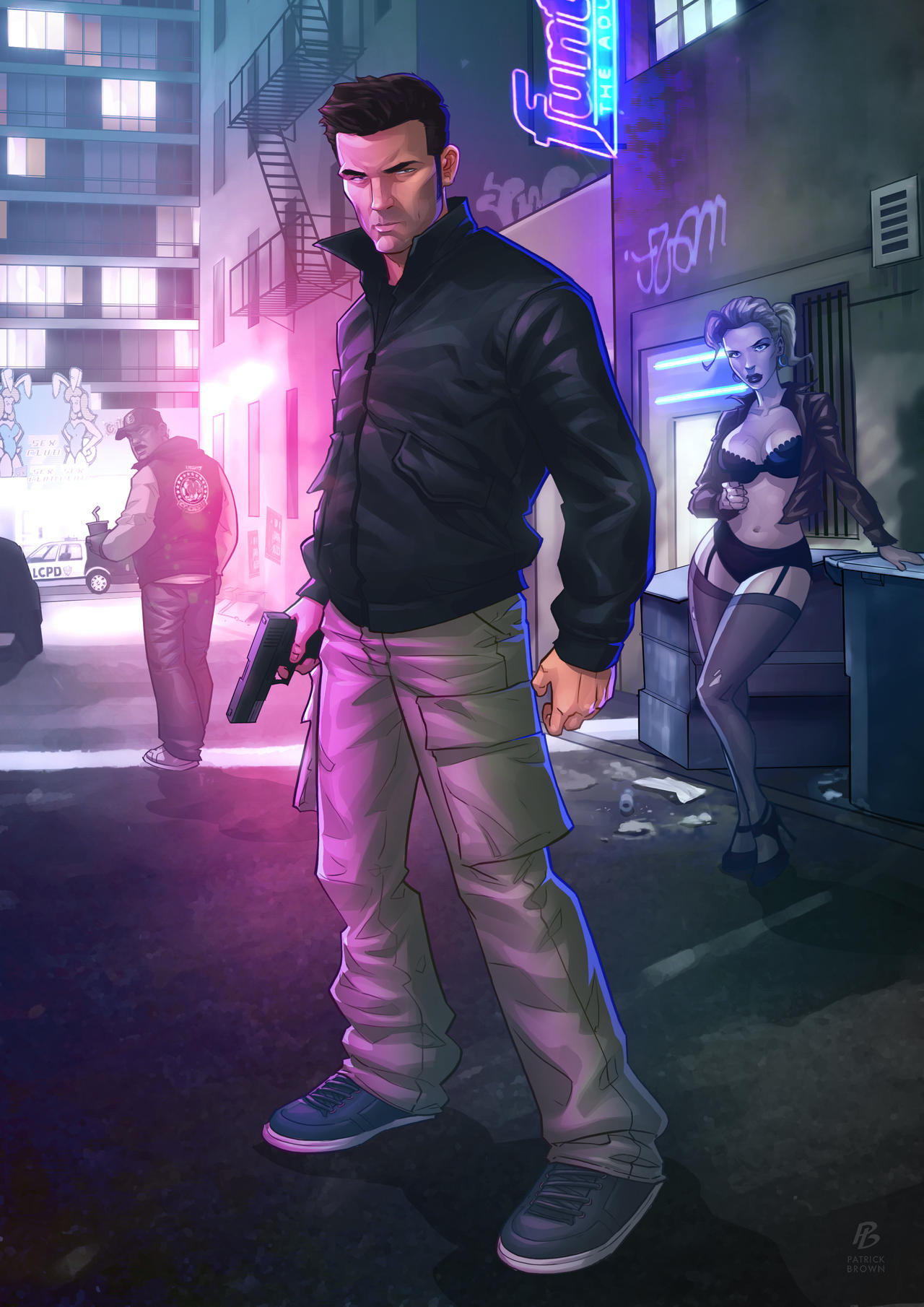 Claude Speed - GTA III by PatrickBrown