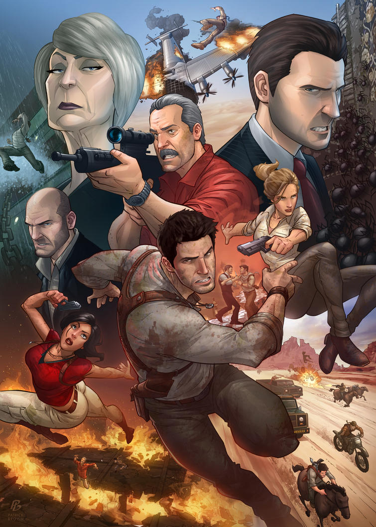 Uncharted 3 by PatrickBrown Uncharted 5