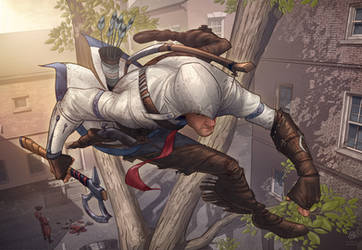 Assassins Creed 3 fan art contest