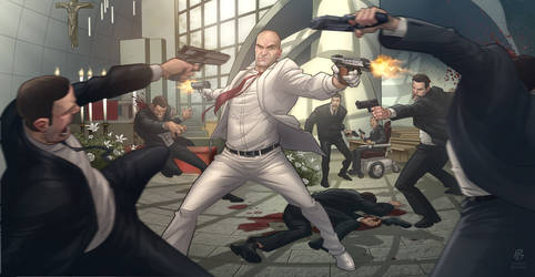 Hitman - Requiem by PatrickBrown