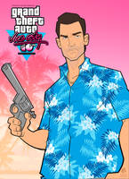 Grand Theft Auto: Vice City 10th Anniversary by PatrickBrown